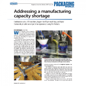 Pouch Filling Machine - article