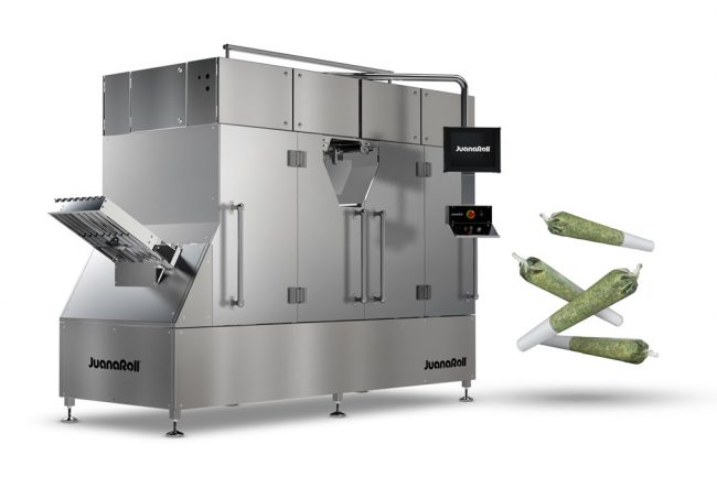 automated pre-roll machine